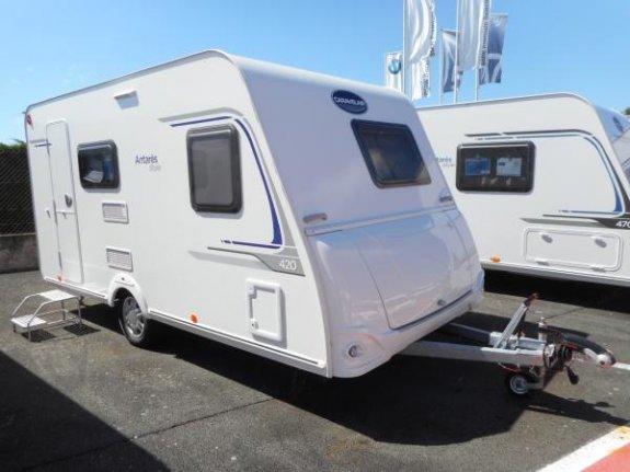 achat caravane / mobil home Caravelair Antares Style 420 Printemps YPO CAMP COCV