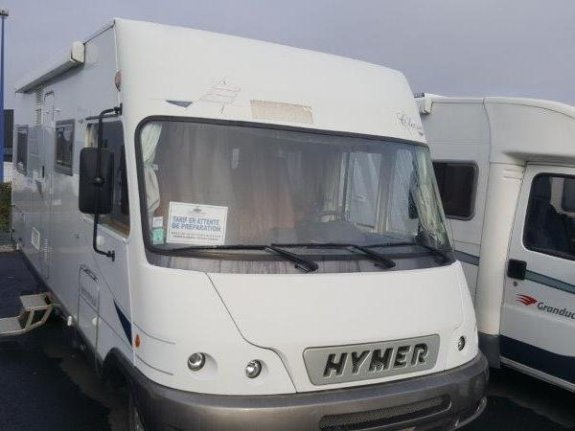 achat  Hymer B 655 Classic YPO CAMP MOBILOISIR