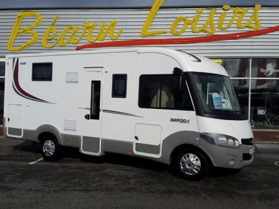 achat  Rapido 850 F YPO CAMP BEARN LOISIRS