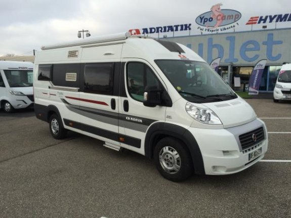 achat  Adria Twin 640 SLX YPO CAMP SUBLET