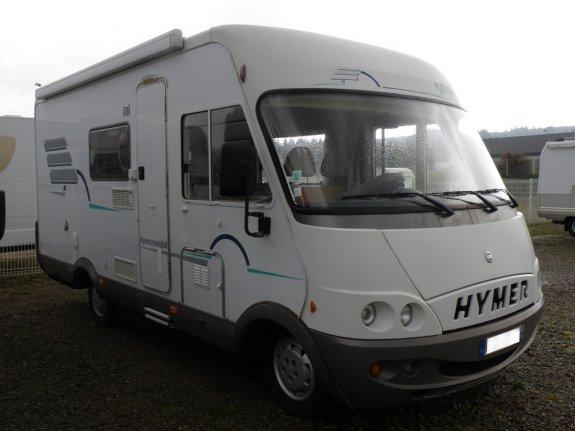 achat  Hymer B 564 SALINSKI CAMPING CAR 14