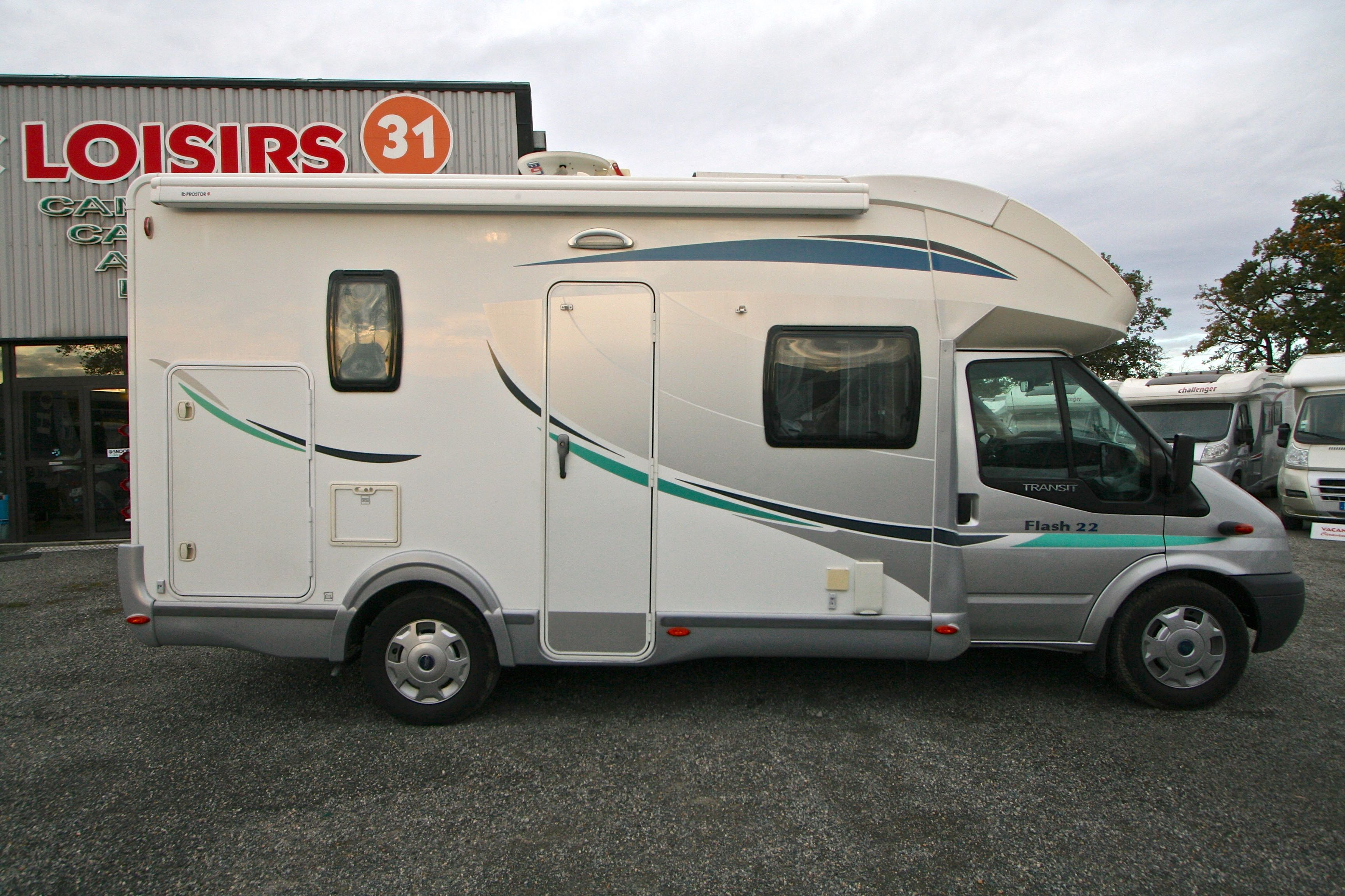 chausson flash 22 occasion  porteur ford transit 2 2l 140