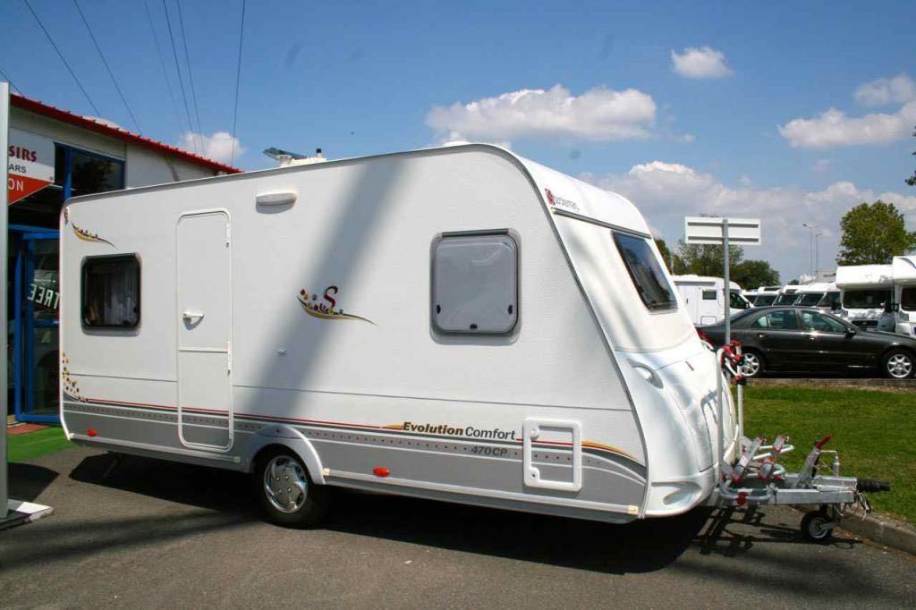 sterckeman 470 cp evolution occasion caravane vendre en haute garonne 31 ref 13284 net. Black Bedroom Furniture Sets. Home Design Ideas
