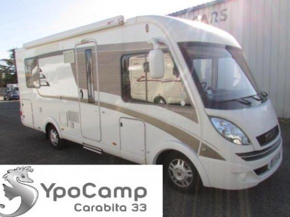 achat  Hymer B 598 Premium Line YPO CAMP CARABITA