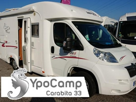 achat  Rapido 703 C YPO CAMP CARABITA