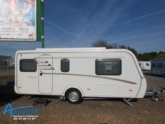 achat caravane / mobil home Eriba Feeling 470 LJ AZUR 37