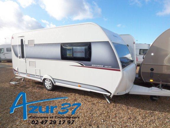 achat caravane / mobil home Hobby 490 Sff AZUR 37