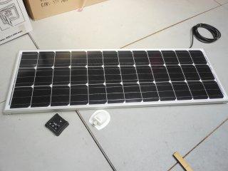 achat panneau solaire120w  CAMPING-CAR ESCAPADE