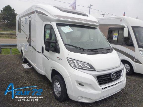 achat escc Hymer Tramp 698 Cl Facelift AZUR 72