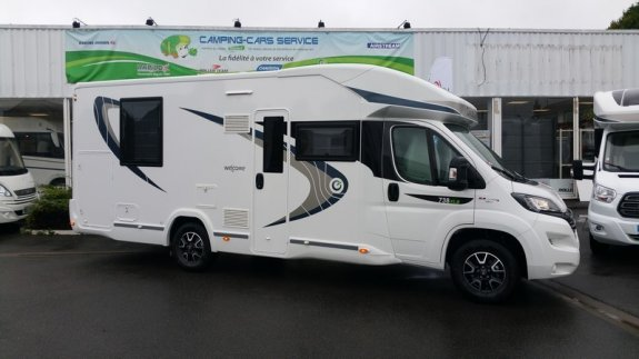 achat  Chausson 738 Xlb CAMPING-CARS SERVICE