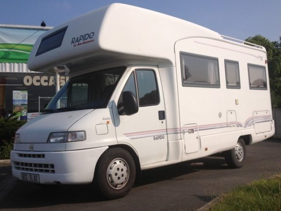 achat  Rapido 860 F CAMPING-CARS SERVICE