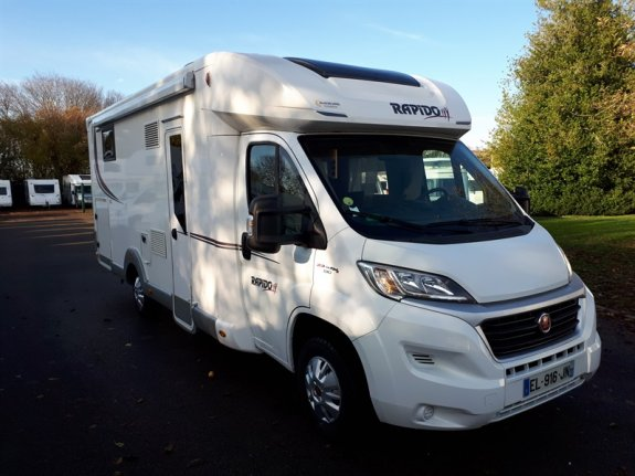 achat  Rapido 690 F GALLOIS OISE-CAMPING