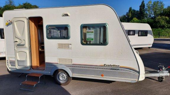 achat caravane / mobil home Sterckeman Evolution 390 CP GALLOIS OISE-CAMPING