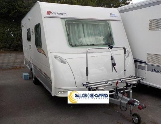 achat caravane / mobil home Sterckeman Starlett 470 PE GALLOIS OISE-CAMPING