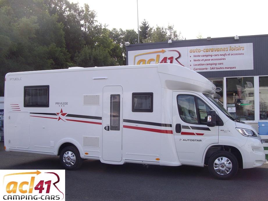 autostar p 730 lc privilege neuf porteur fiat ducato camping car vendre en loir et cher 41. Black Bedroom Furniture Sets. Home Design Ideas