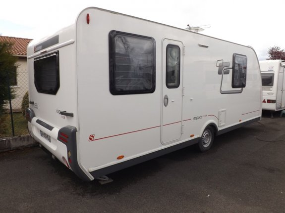 achat caravane / mobil home Sterckeman Espace 550 CP MARTIN CARAVANES