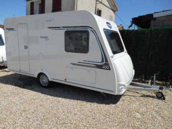 achat caravane / mobil home Caravelair Antares Style 400 PAUTARD LOISIRS
