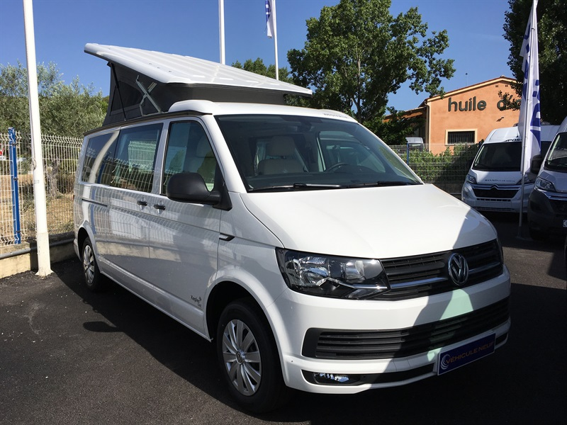 westfalia kepler one neuf porteur vw transporter l tdi ch diesel camping car vendre en alpes. Black Bedroom Furniture Sets. Home Design Ideas