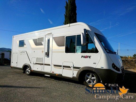 pilote g 742 c diamond occasion annonces de camping car en vente net campers. Black Bedroom Furniture Sets. Home Design Ideas