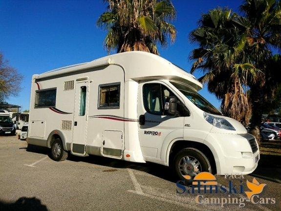 rapido le randonneur 776 f occasion annonces de camping car en vente net campers. Black Bedroom Furniture Sets. Home Design Ideas
