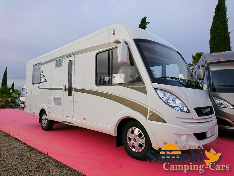 hymer b 698 cl neuf porteur fiat 40 2 3l m jet 130cv camping car vendre en var 83 ref. Black Bedroom Furniture Sets. Home Design Ideas