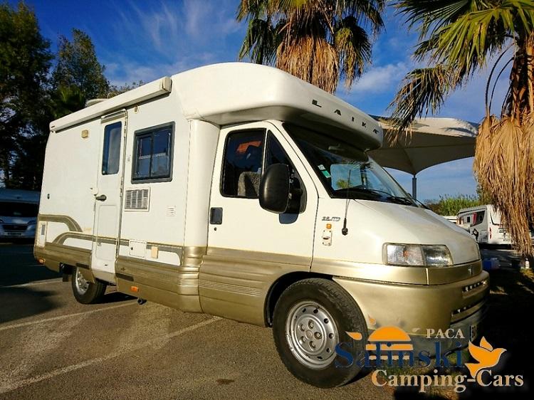 laika ecovip 7 r occasion porteur fiat ducato 2 8 jtd 122cv camping car vendre en var 83. Black Bedroom Furniture Sets. Home Design Ideas