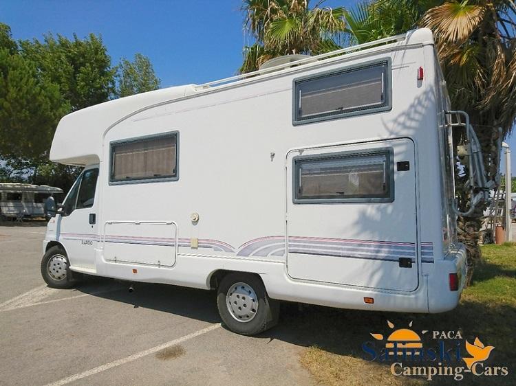 rapido le randonneur 890 f occasion porteur fiat ducato 2 8l jtd camping car vendre en var. Black Bedroom Furniture Sets. Home Design Ideas