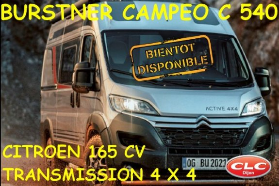 achat  Burstner Campeo C 540 CLC DIJON