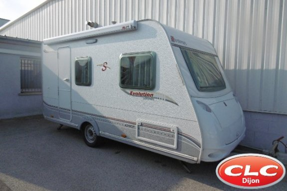 achat caravane / mobil home Sterckeman Evolution 420 CP Comfort CLC DIJON