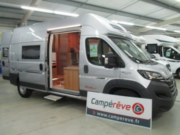 achat  Campereve Family Van CASTRES CAMPING CARS