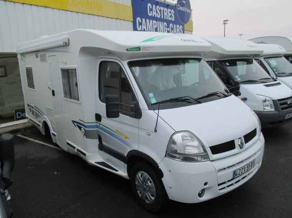 achat  Chausson Allegro 82 CASTRES CAMPING CARS