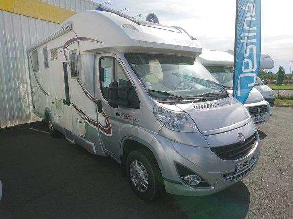achat  Rapido 791 DF CASTRES CAMPING CARS