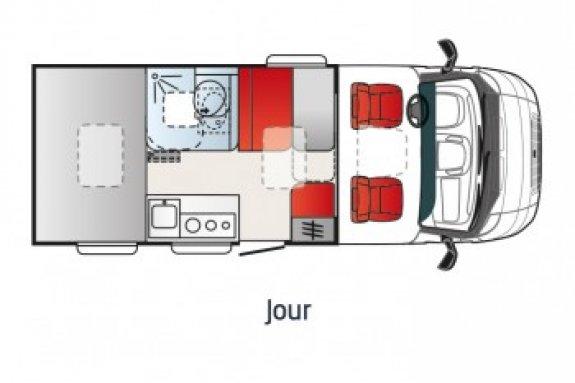 achat  Elios Car Van Xp VENDEE LOISIRS