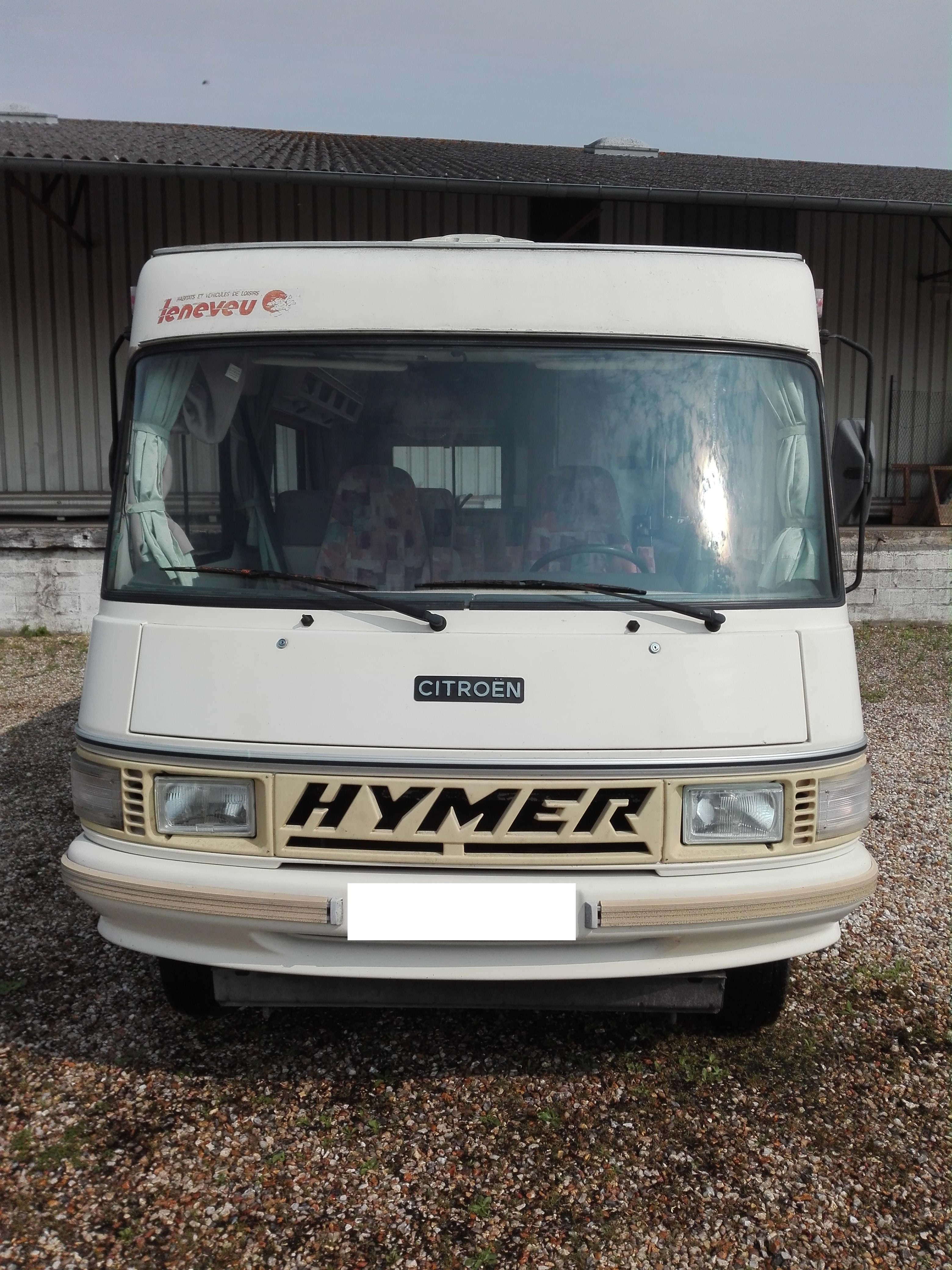 Hymer 544 - 3