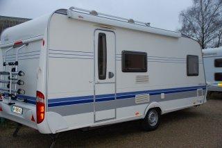 achat caravane / mobil home Hobby 500 KMFe De Luxe CARAVANES 2000 - 72
