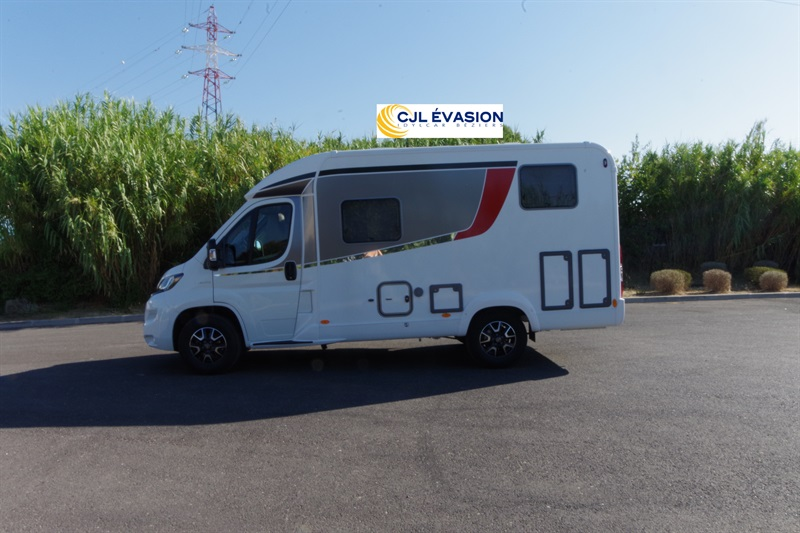 burstner travel van t 590 g neuf  porteur fiat ducato 2 3l