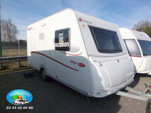 achat caravane / mobil home Sterckeman Alize 410 CP MAINE LOISIRS