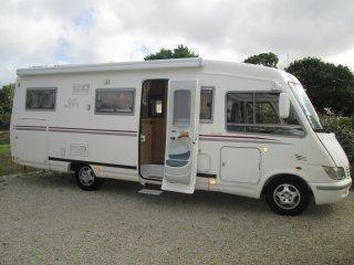 le voyageur lvx 8 lj occasion annonces de camping car en vente net campers. Black Bedroom Furniture Sets. Home Design Ideas