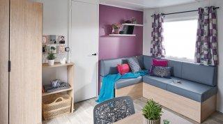 achat caravane / mobil home Rapidhome Lodge 100 LES LOGIS D'ANNE-SOPHIE
