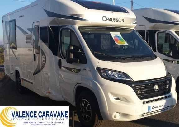 achat  Chausson Welcome 628 Eb VALENCE CARAVANE