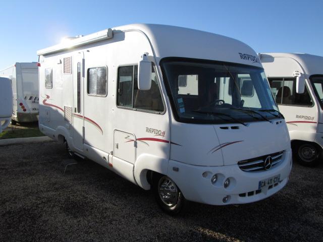 rapido 986 m bva occasion porteur mercedes 316 cdi 156 cv bva camping car vendre en gironde. Black Bedroom Furniture Sets. Home Design Ideas