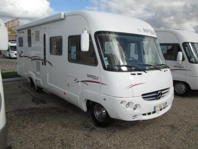 rapido 997 m occasion porteur mercedes 316 cdi 156 cv camping car vendre en gironde 33. Black Bedroom Furniture Sets. Home Design Ideas