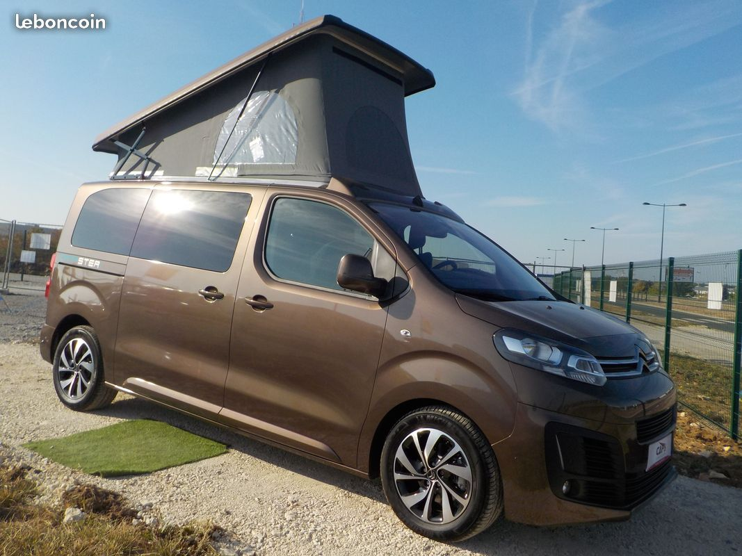 campster campster neuf porteur citroen space tourer camping car vendre en indre 36 ref. Black Bedroom Furniture Sets. Home Design Ideas