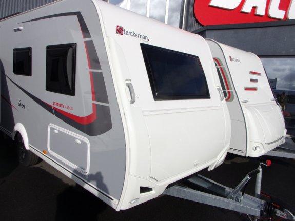 achat caravane / mobil home Sterckeman 430 Cp Starlett Graphite JACQUELINE 22