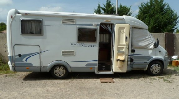 achat  Eriba 686 GT CAMPING CAR SERVICES LANGUEDOC
