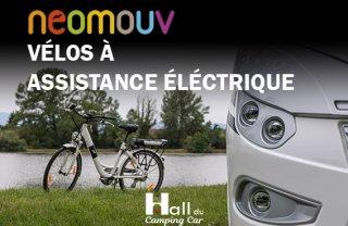 achat VELO A ASSISTANCE ELECTRIQUE HALL DU CAMPING CAR