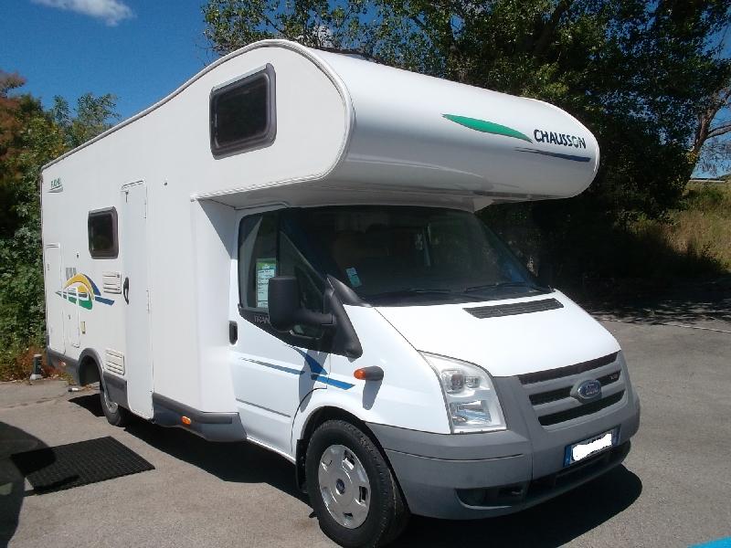 chausson flash 03 occasion porteur ford transit 2 2l tdci 130ch diesel camping car vendre en. Black Bedroom Furniture Sets. Home Design Ideas