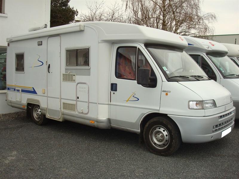 burstner t 604 occasion porteur fiat ducato 2 8l jtd 122ch diesel camping car vendre en. Black Bedroom Furniture Sets. Home Design Ideas