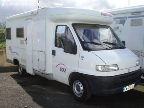 achat  Challenger 102 CHATEL CARAVANING