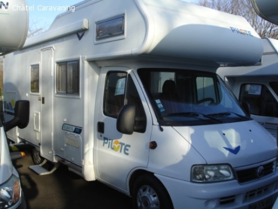 achat  Pilote A 8 CHATEL CARAVANING